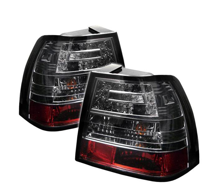 1999-2004 Volkswagen Jetta LED Tail Lights - Smoke