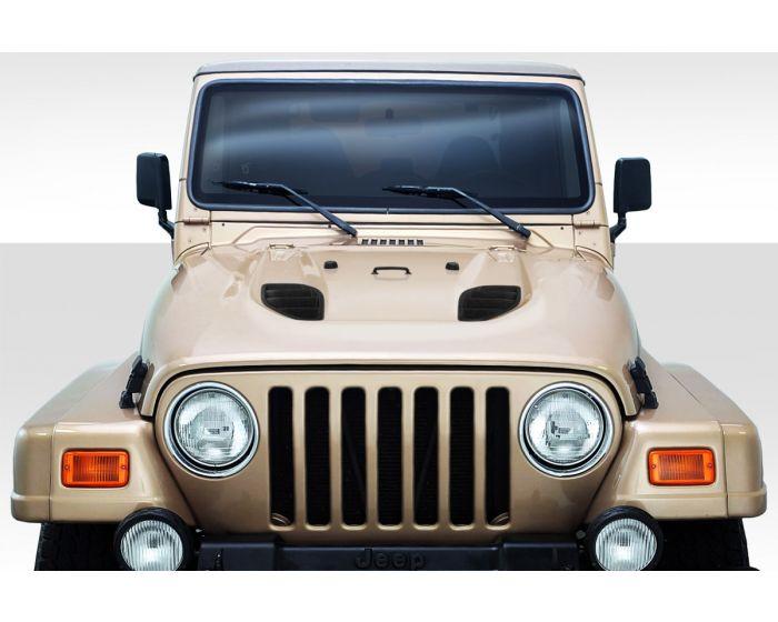 [SCHEMATICS_4UK]  1997-2006 Jeep Wrangler Duraflex Power Dome Hood - 1 Piece | 2006 Jeep Wrangler Hood |  | Driven By Style LLC