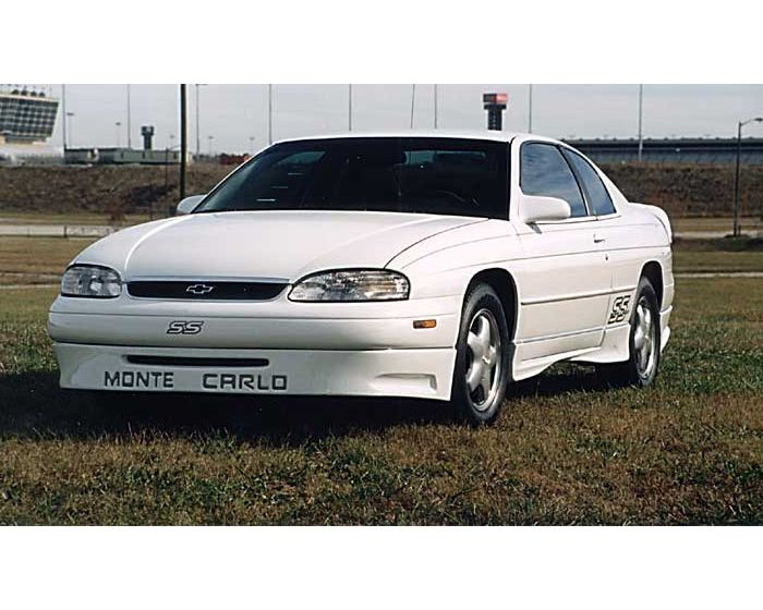 1995 1999 chevrolet monte carlo 2dr razzi front air dam driven by style llc
