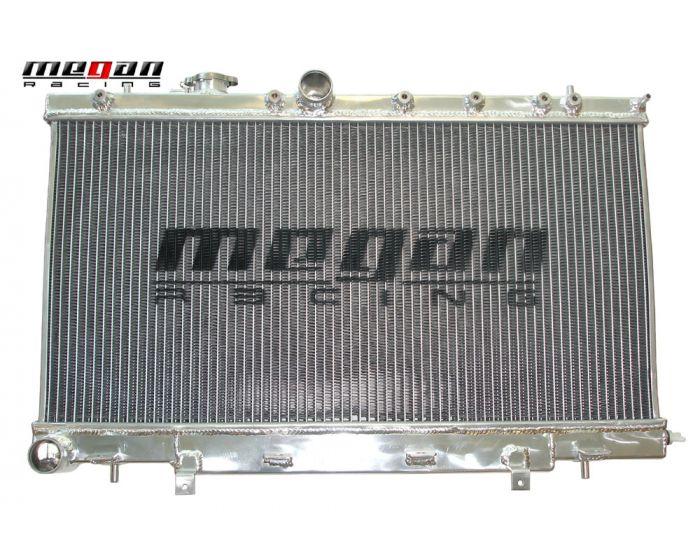 02-07 Megan Racing High Performance Aluminum Radiator WRX /& STi MR-RT-SI04ST