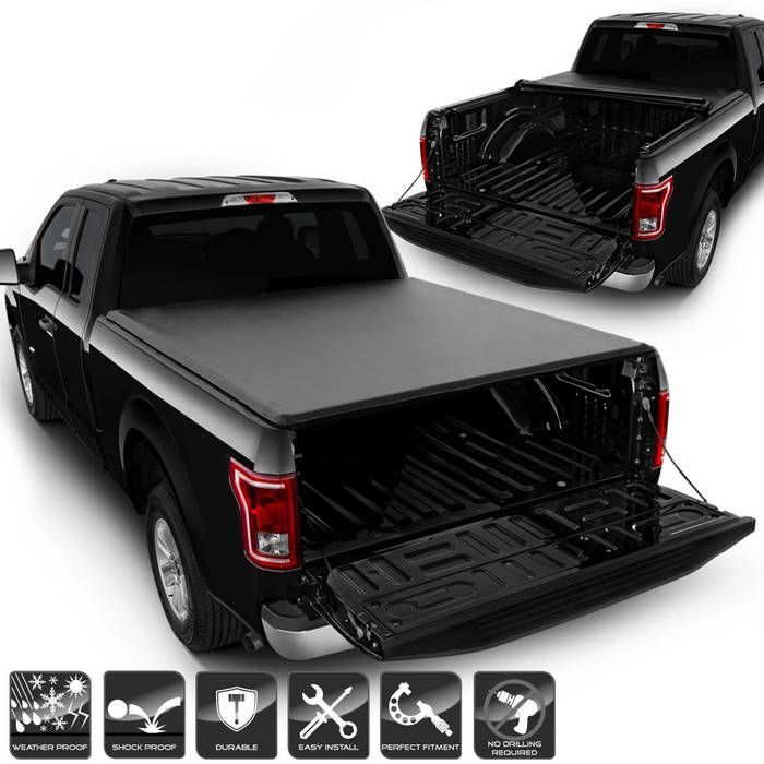 2015 2018 Ford F150 Supercrew Double Cab 66 Bed Roll Up Style